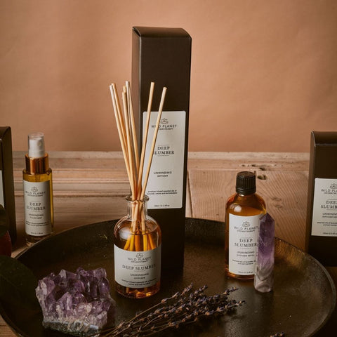 Deep Slumber Home Fragrance Collection by Wild Planet Aromatherapy
