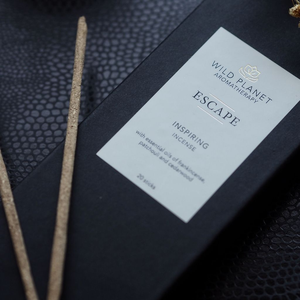 Escape luxury incense sticks by Wild Planet Aromatherapy