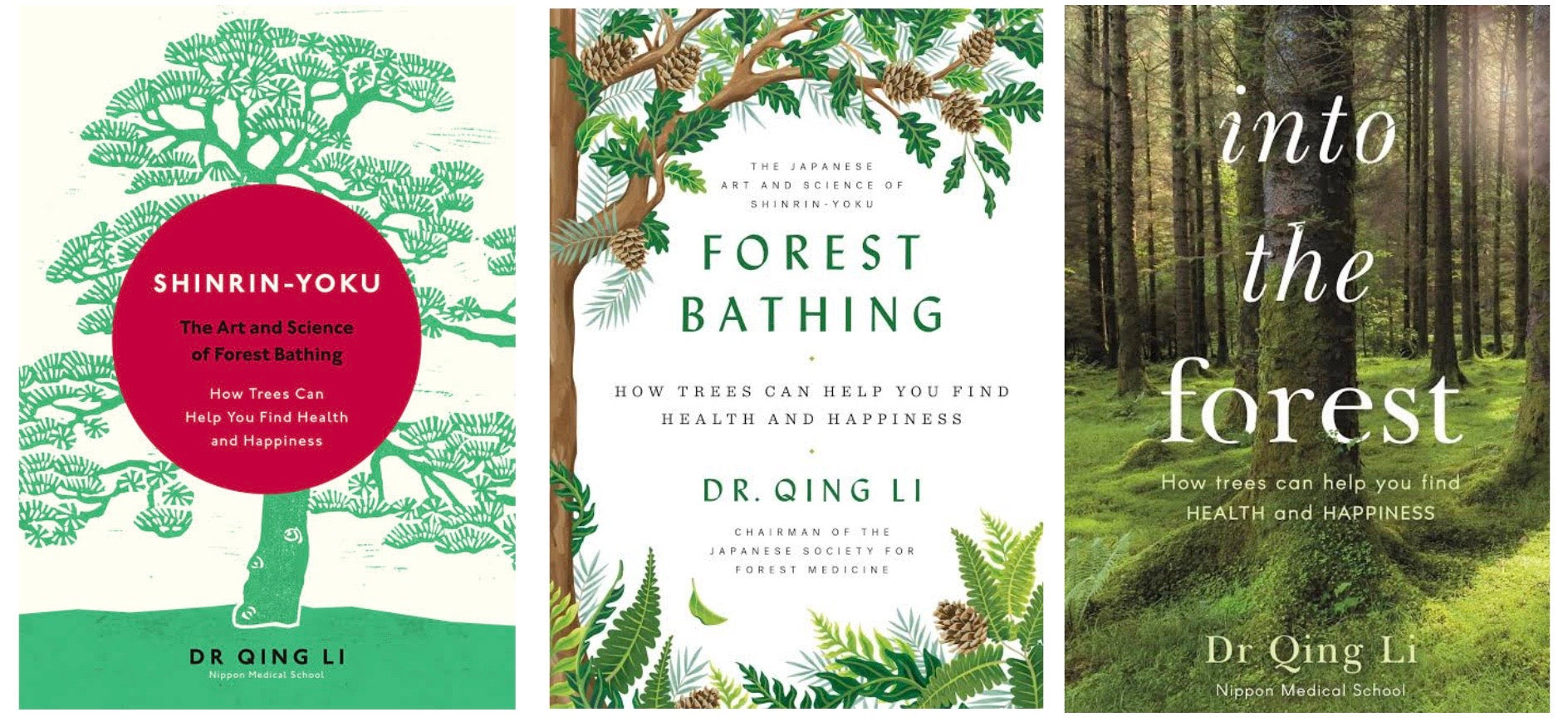 Forest Bathing book cover by Dr Quing Li