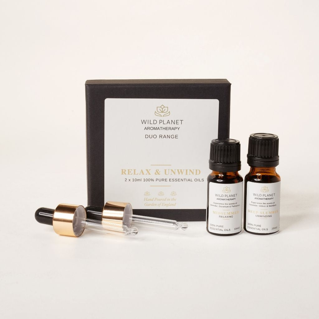RELAX & UNWIND Essential Oils Duo Set