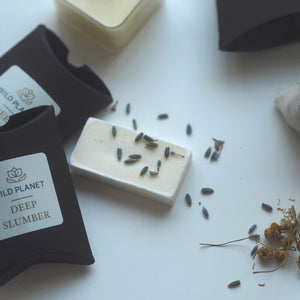 Wax Melt, lavender flowers, wax melt sachets from Sleep Letterbox Gift by Wild Planet Aromatherapy