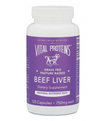 Beef Liver - Grass Fed Pasture Raised - Vital Proteins