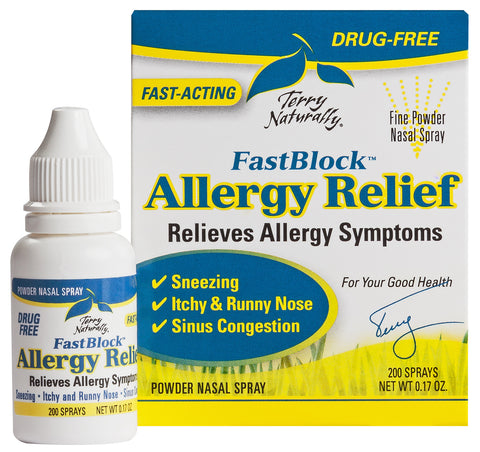 FastBlock Allergy Relief - Terry Naturally