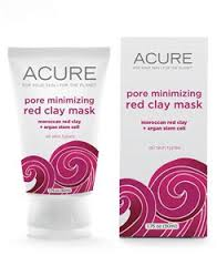 Pore Minimizing Red Clay Mask - Acure