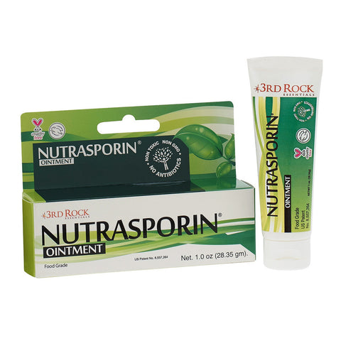 Nutrasporin - Natural Silver First Aid Healing Ointment