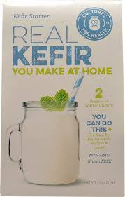 Kefir Starter Grains (Direct Set, 2Pack) - Cultures For Health