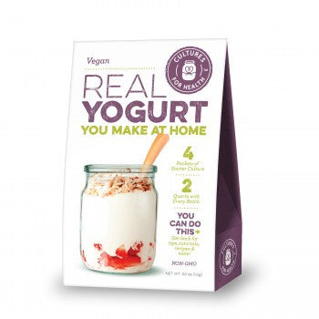 Vegan Yogurt Starter - Cultures For Health