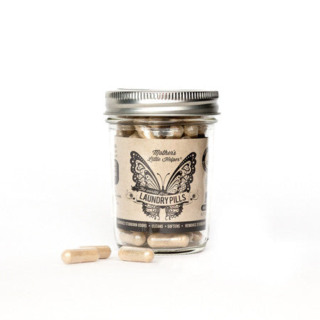 MLH Laundry Pills Glass Jar 100 / 8.7oz