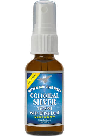 Colloidal Silver w/ Olive Leaf - Silver Wings