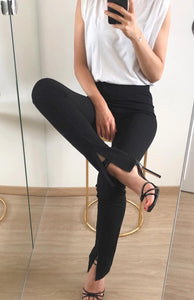 Kencia split legging black