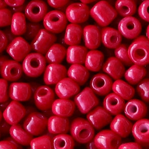 rocailles rumba red 4mm (10 gram)