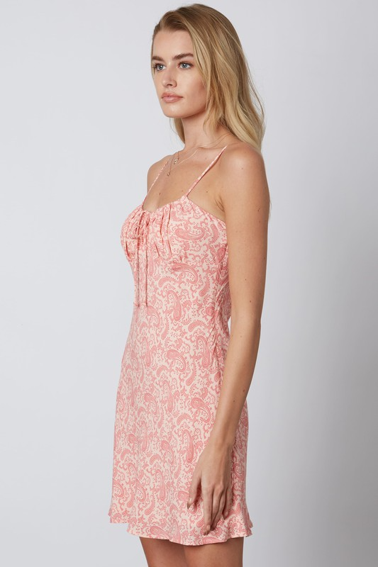 Bianca Dress in Coral