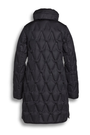 CS24502031 CREENSTONE BLACK DOWN PUFFER JACKET WITH V DESIGN-PUFFER-CREENSTONE-38-Janan Boutique