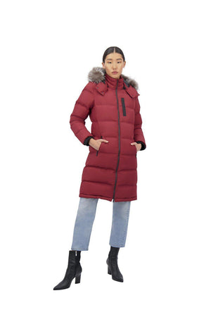 RUSH LAKE PARKA 2.0 COMET RED-PUFFER-MOOSE KNUCKLES-S-Janan Boutique