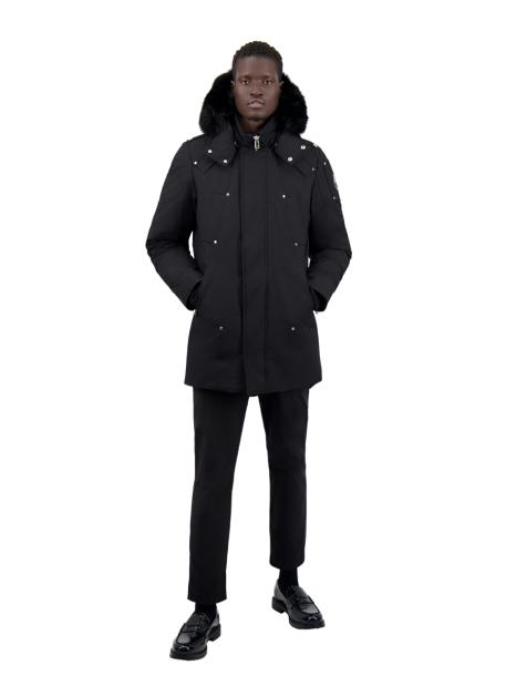 STIRLING PARKA BLACK W BLACK FUR-FUNCTIONAL-MOOSE KNUCKLES-L-Janan Boutique
