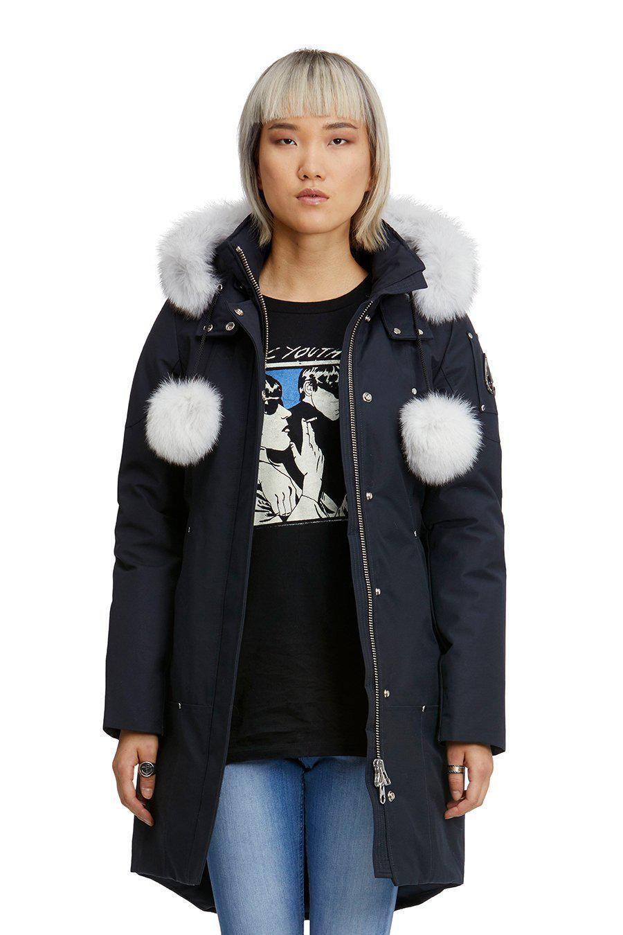 STIRLING PARKA NAVY-PARKA-MOOSE KNUCKLES-S-Janan Boutique