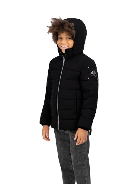 UNISEX 3Q PUFFER BLACK-MOOSE KNUCKLES-L-Janan Boutique