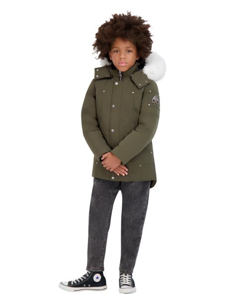 UNISEX PARKA ARMY W NATURAL FUR-PARKA-MOOSE KNUCKLES-M-Janan Boutique