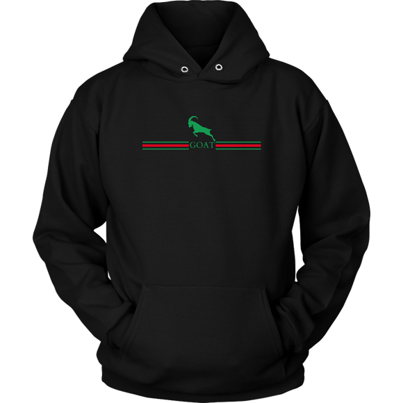 GOAT Green Logo Hoodie (3 Colors)