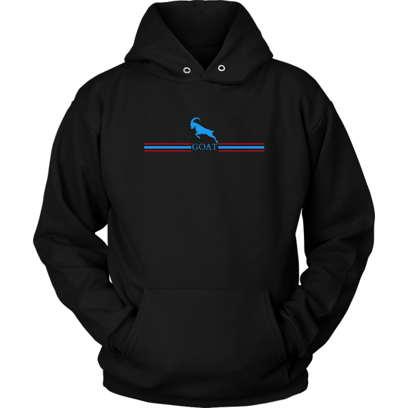 GOAT Blue Logo Hoodie (3 Colors)