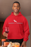 GOAT 23 Red White and Black Hoodie
