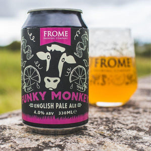 Funky Monkey, English Pale Ale 330ml Cans - Frome Brewing Company