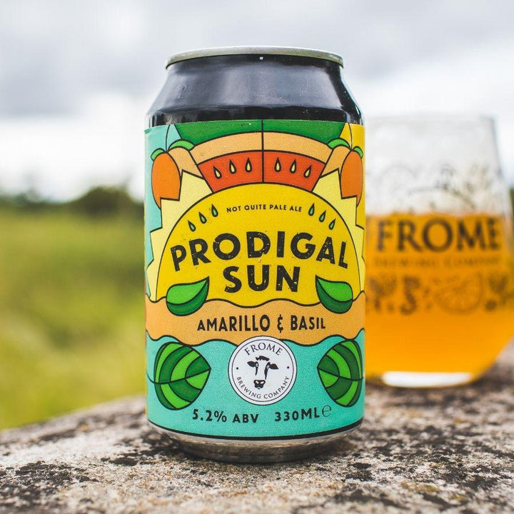 Prodigal Sun, Ale 330ml Cans - Frome Brewing Company
