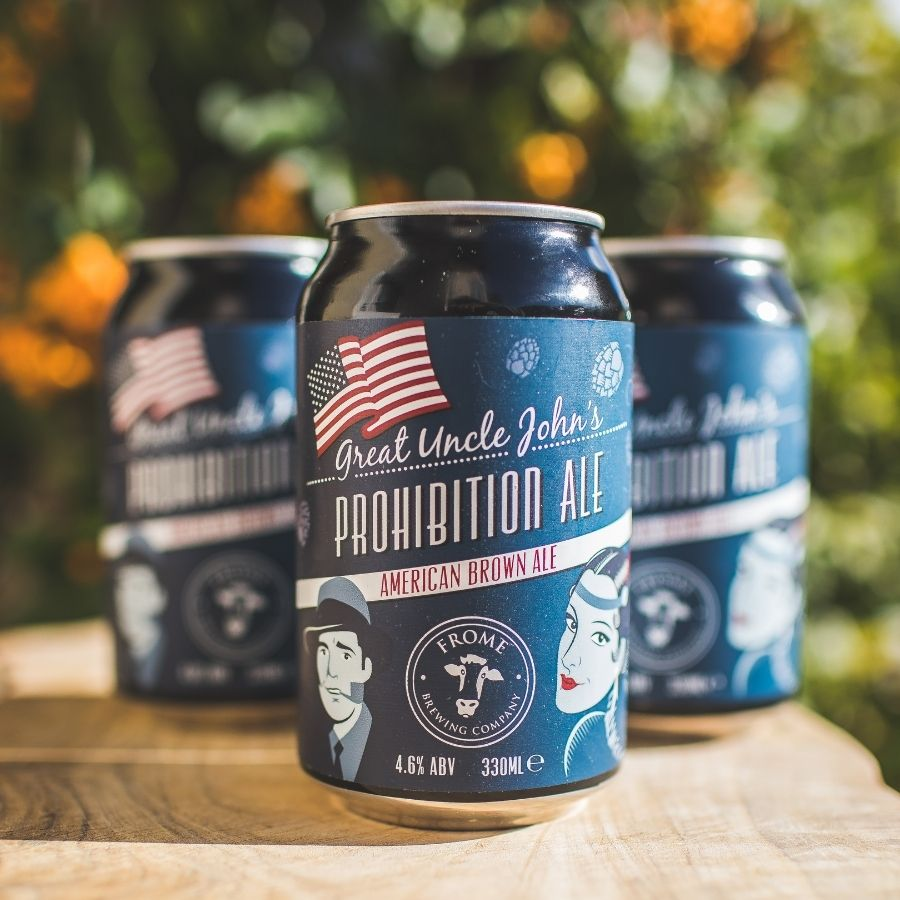 Great Uncle John's Prohibition Ale, 330ml Cans