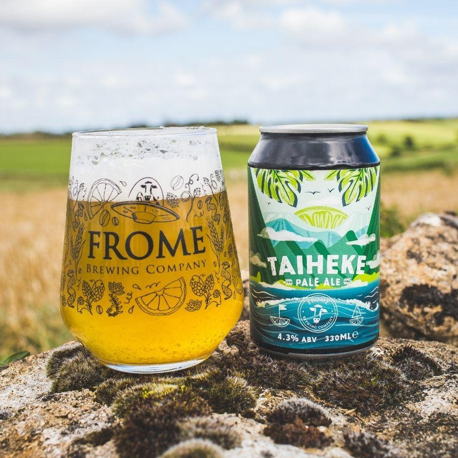 Taiheke, Pale Ale 330ml Cans - Frome Brewing Company