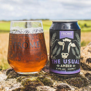 The Usual, Amber Ale 330ml Cans - Frome Brewing Company