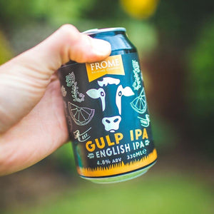 Gulp, IPA 330ml Cans - Frome Brewing Company