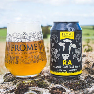 RA, Pale Ale 330ml Cans - Frome Brewing Company