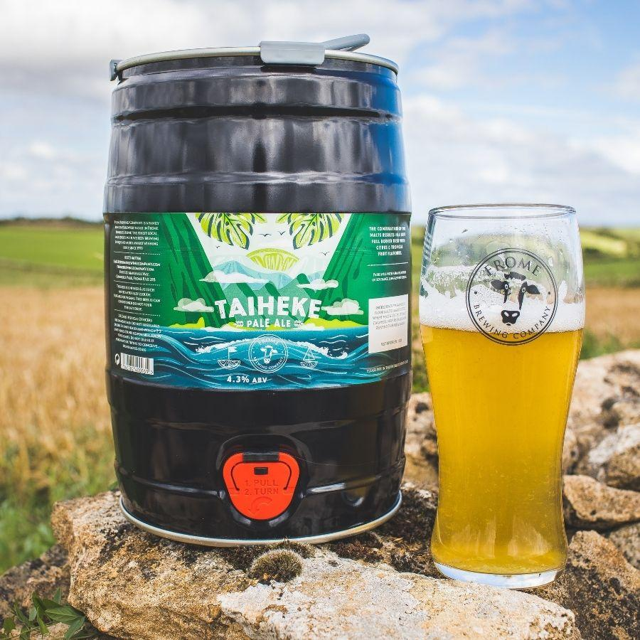 Taiheke, Pale Ale - Mini Keg (9 Pints) - Frome Brewing Company