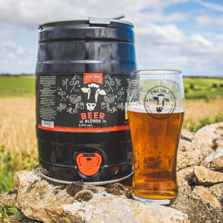 Beer, Blonde Ale - Mini Keg (9 Pints) - Frome Brewing Company