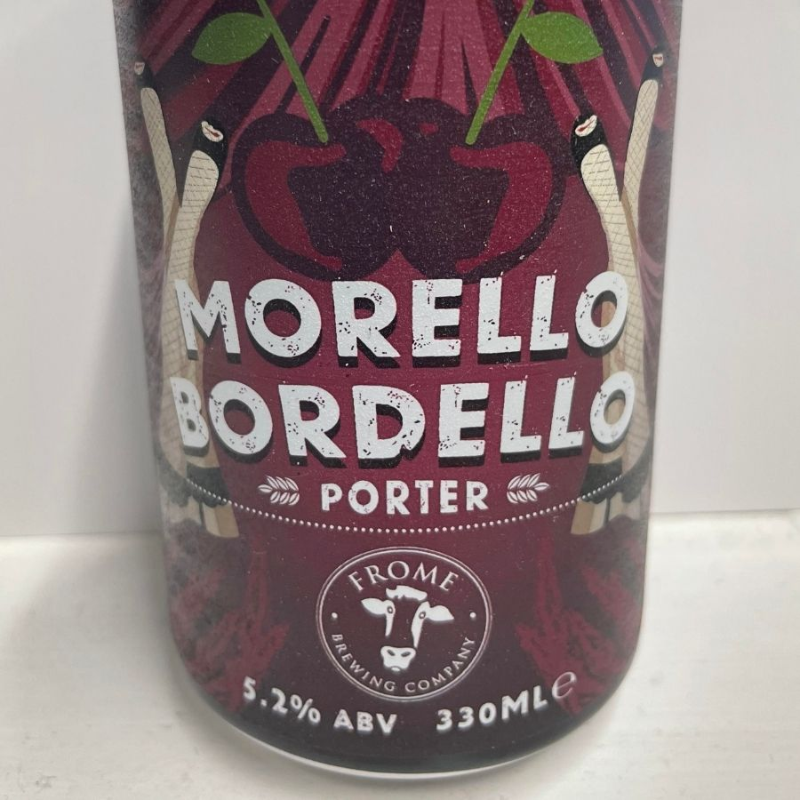 Morello Bordello, Porter 330ml Cans