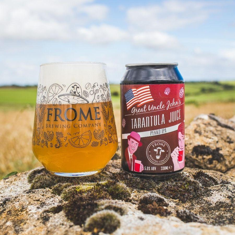 Tarantula Juice, IPA - Mini Keg (9 Pints) - Frome Brewing Company