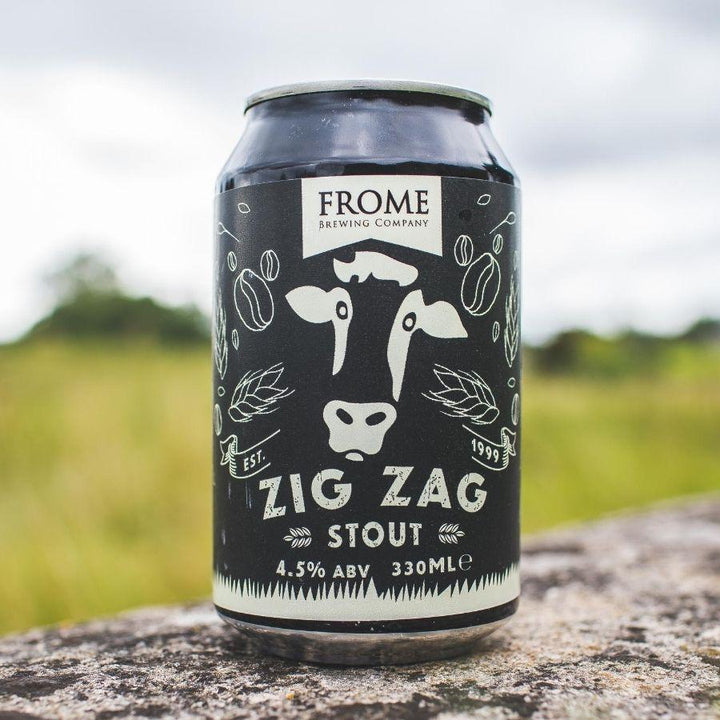 Zig Zag, Stout 330ml Cans - Frome Brewing Company