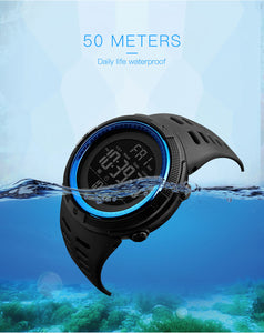 Fashion Outdoor Sport Watch Men Multifunction Watches Alarm Clock Waterproof Digital Watch