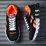 Men Fashion Sports Leisure Shoes Cushion Breathable Running Shoes Mixed Color Sneakers