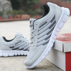 Men Sneakers Breathable Casual No-slip Men Vulcanize Shoes