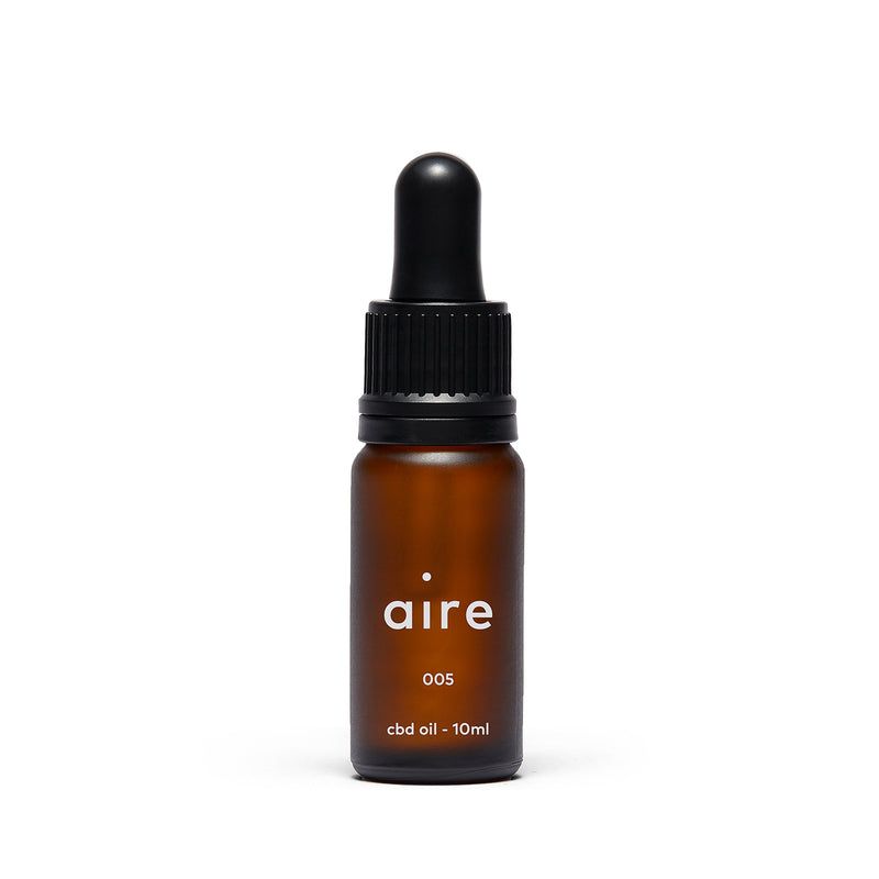 Aire 500mg CBD Oil — 005 front bottle