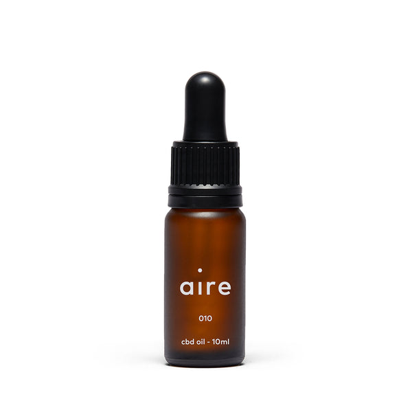 Aire 1000mg CBD Oil — 010 front bottle