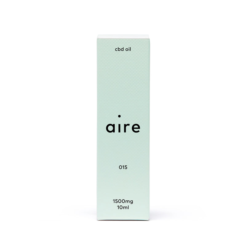 Aire 1500mg CBD Oil — 015 front carton
