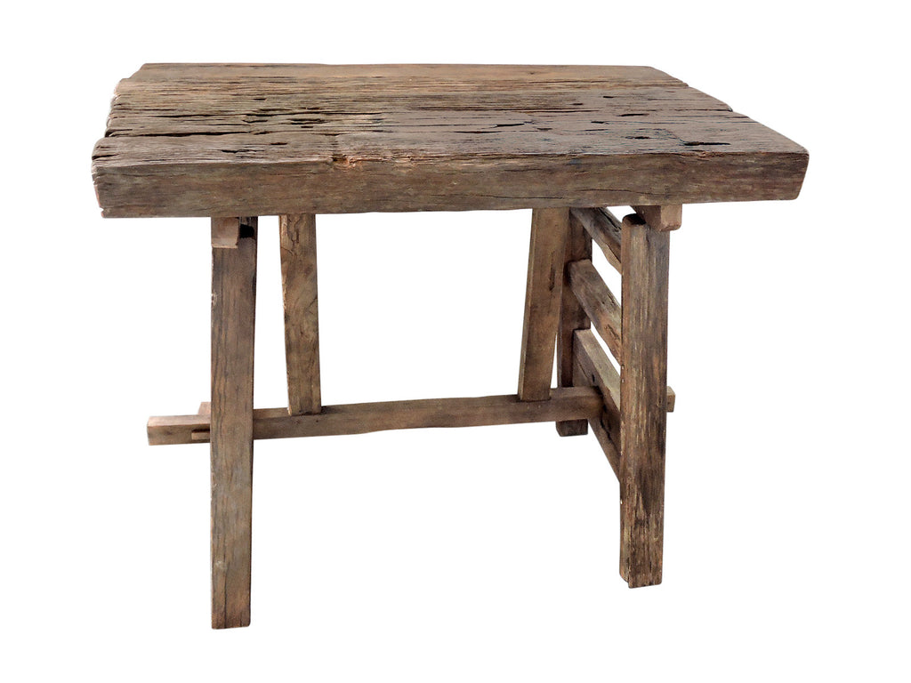Iron Wood Bar Table