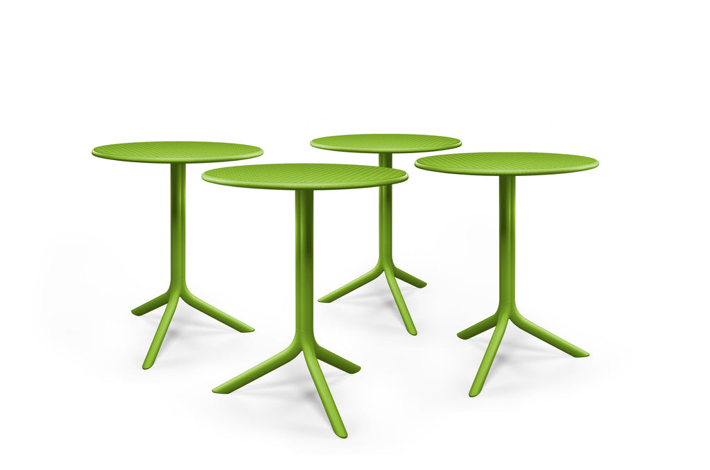 Nardi Step Table Green Stax Chairs WA