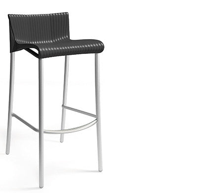 Nardi Duca Anthracite Stackable Bar Stool