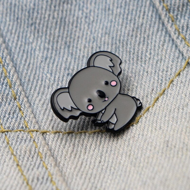 Kawaii Koala Enamel Pin Badge