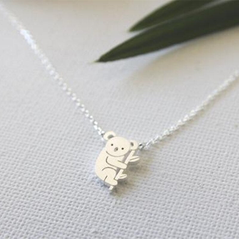 Kawaii Koala Charm Necklace