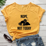 Lazy Koalas Introvert T-shirt for Women