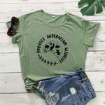 Protect Australian Wildlife Graphic Tops for Women
